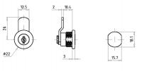 Hebelzylinder FHZ0007-Z